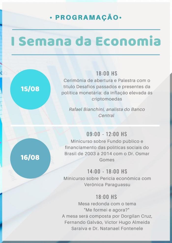 I Semana da Economia